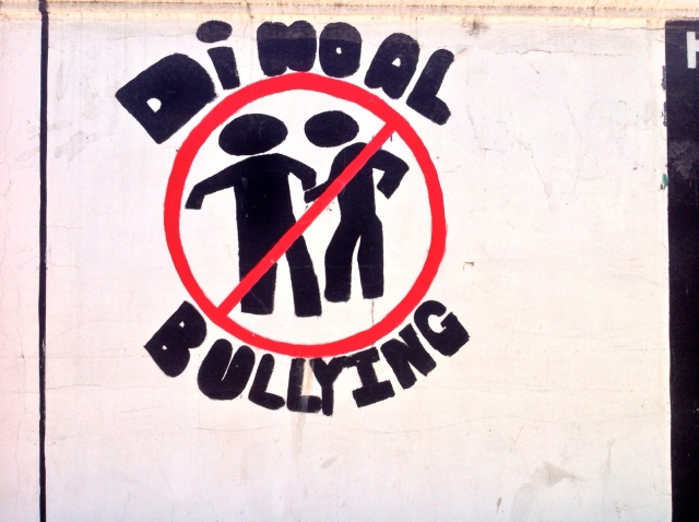 Say no to bullying.